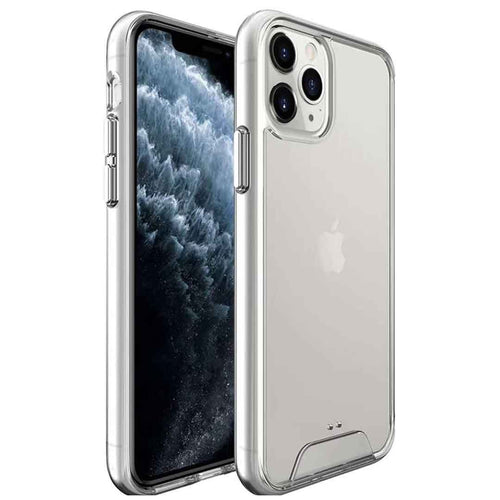 SPACE CASE: Luxury Crystal Clear Cover for iPhone 12 Series