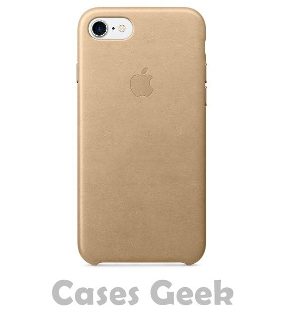 Apple iPhone Gold Original Plain Leather Case | Cover