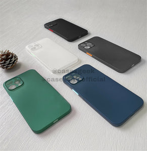 Ultra Thin Matte 0.3mm Slim & Soft Finish Case for iPhone 11 & 12 Series