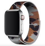 Apple iWatch Camouflage Milanese Loop