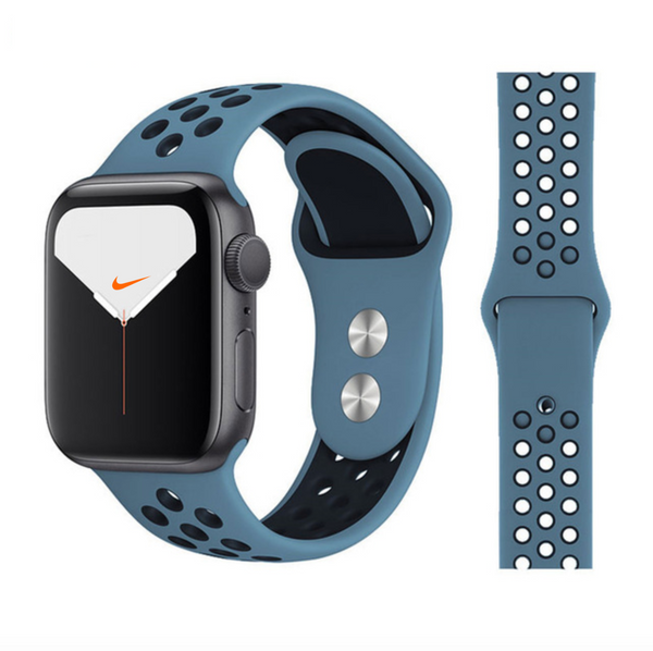 iWatch Nike Sport Band Blue Black