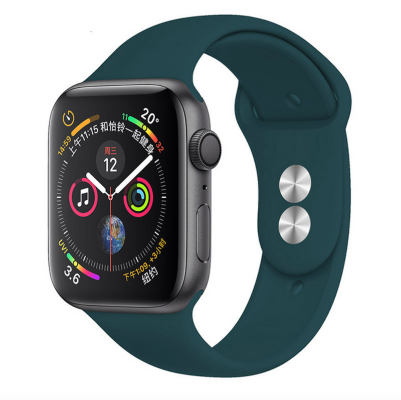 iWatch Sports Band Midnight Green