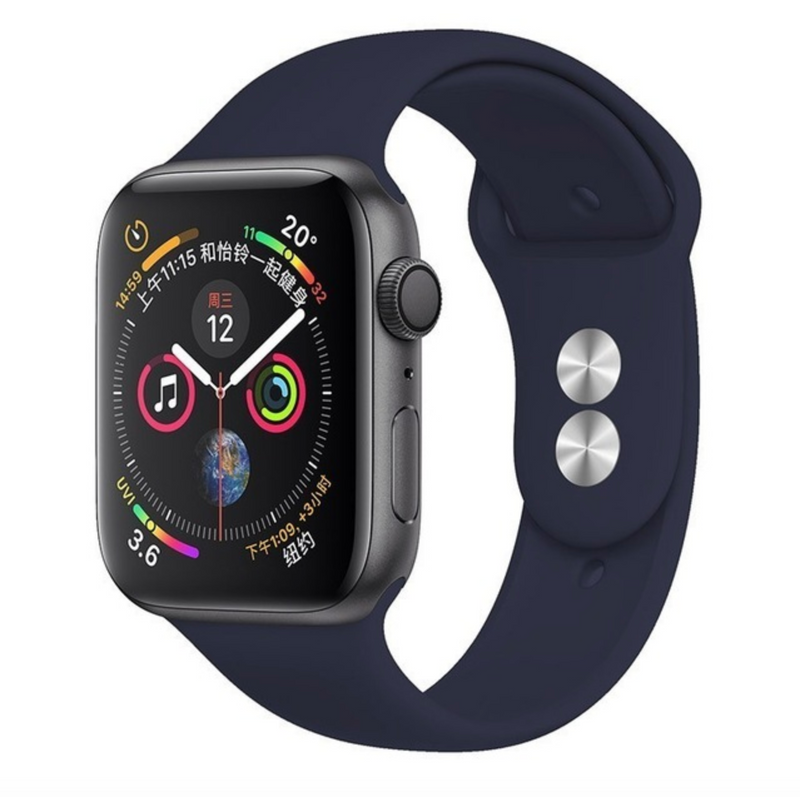 iWatch Sports Band Navy Blue