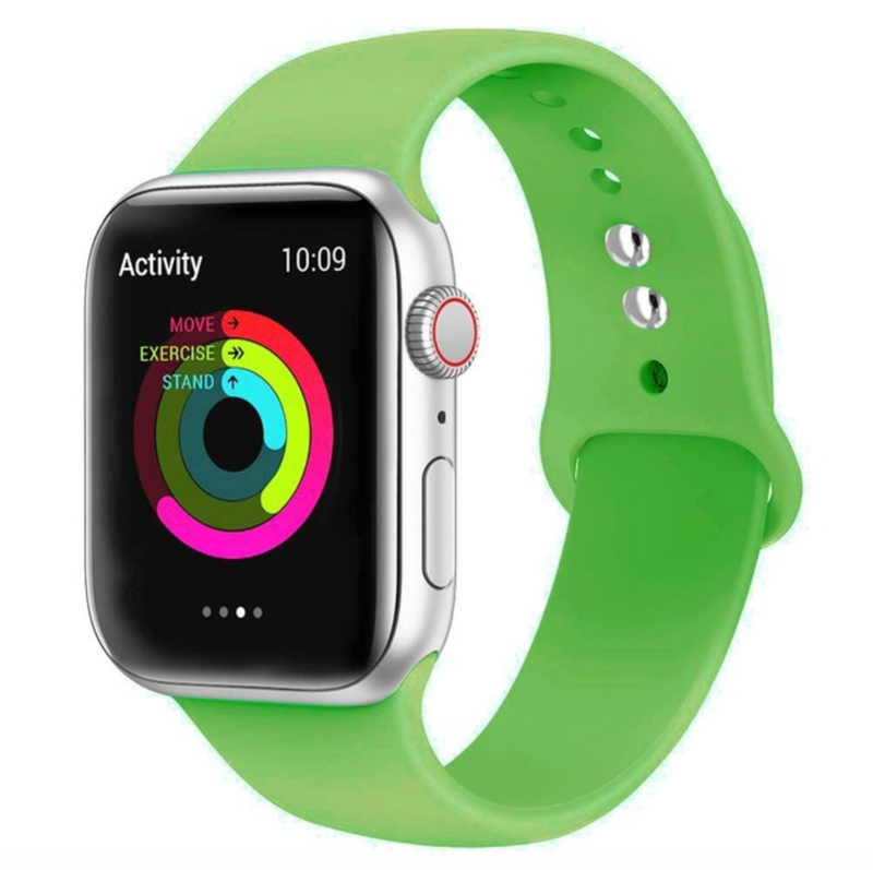 iWatch Sports Band Parrot Green