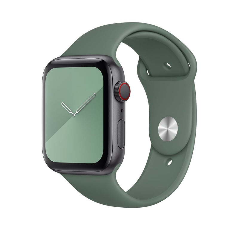 iWatch Sports Band Peacock Green