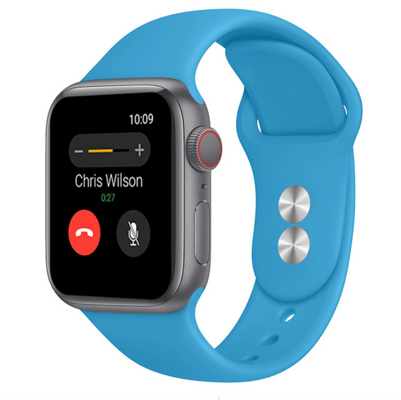 iWatch Sports Band Sky Blue