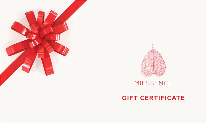 Miessence Gift Certificate