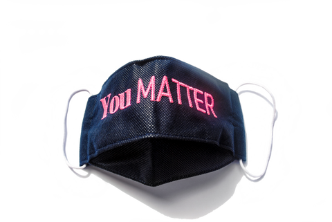 You Matter Face Mask & Bag