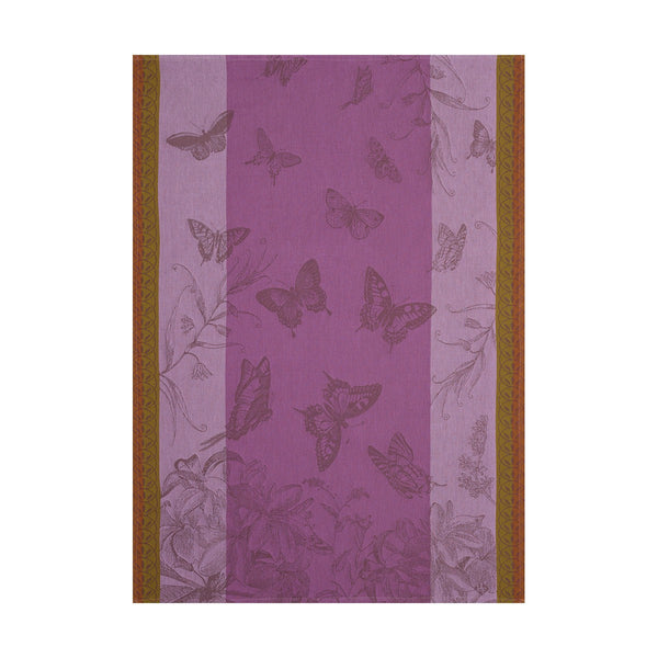 "French Tea Towel ""Butterfly Garden"""