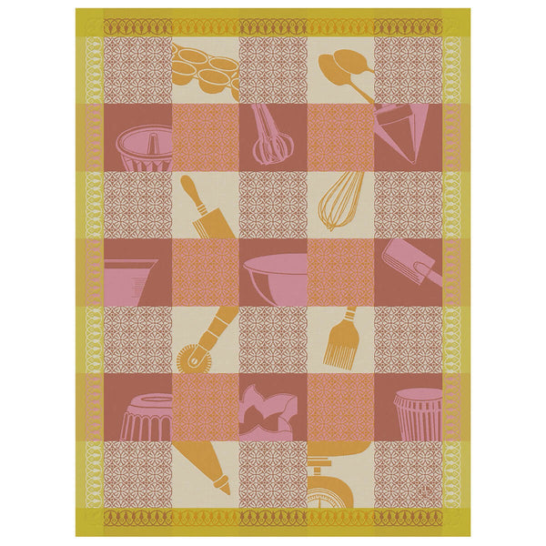 "French Tea Towel ""Macaron Pastry Chef"""