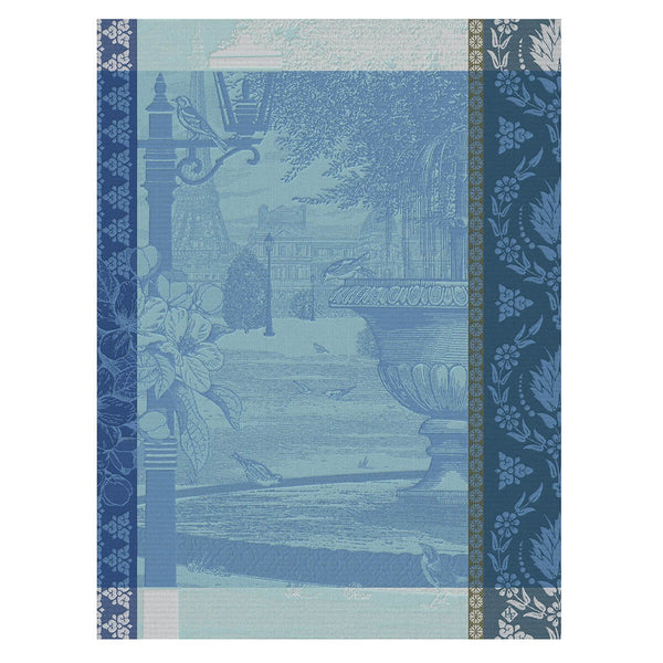 "French Tea Towel ""Parisian Garden"""