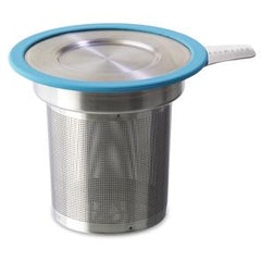 Tea Infuser Large, Fine Mesh with Turquoise Lid by ForLife