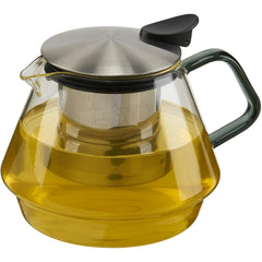 Tea Pot, Glass/Stainless 24oz