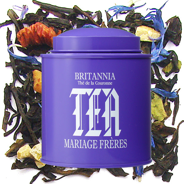 Britannia Calligraphy Tin, Black Tea by Mariage Frères -NEW!