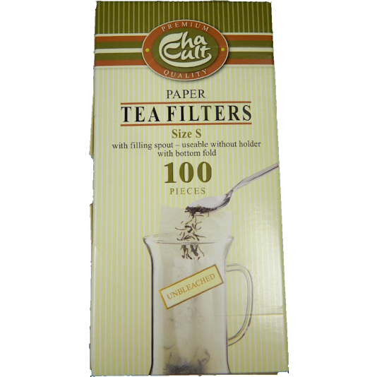 Make-Your-Own Teabags, Small: 100-ct. - The Cultured Cup®