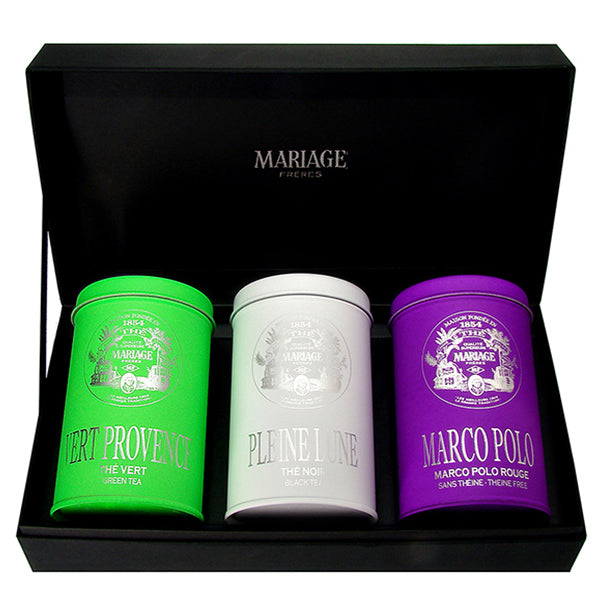 Chef Masterpieces Organic Tea Gift Box by Mariage Frères