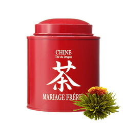 China Calligraphy Blooming Tea in Tin by Mariage Frères