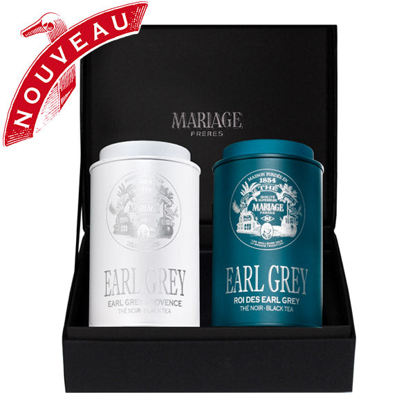 Tea Gift Box, Two Earl Greys by Mariage Frères -NEW!