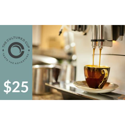 E-Gift Card from The Cultured Cup -NEW!