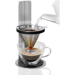 Coffee Pour Over Maker with Adjustable Stainless Filter