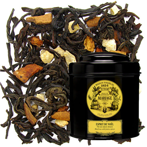Noël, Esprit de Tea in Tin by Mariage Frères - The Cultured Cup®  - 1