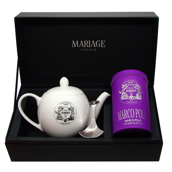 Marco Polo Tea Taster Gift Box by Mariage Frères