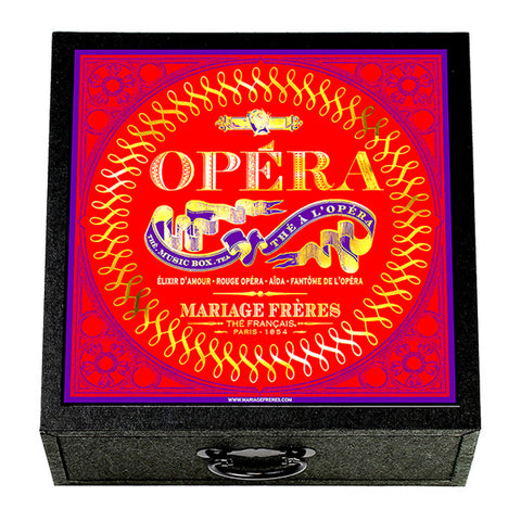 Music Box of Opera Inspired Teas by Mariage Frères