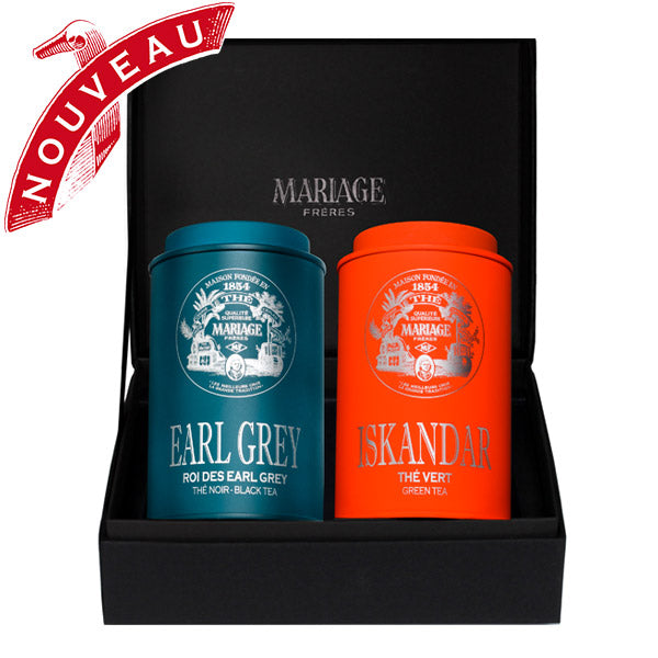 Samarkand Organic Tea Gift Box by Mariage Frères -New!