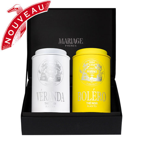 Tea Gift Box, Sevilla Organic Black Teas by Mariage Frères - NEW!