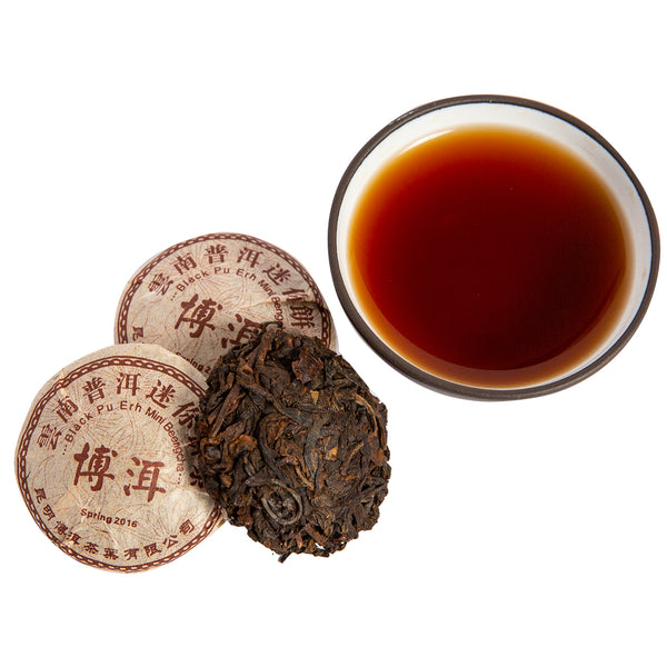 Silk Road Pu'er Cake, 9 g - NEW!
