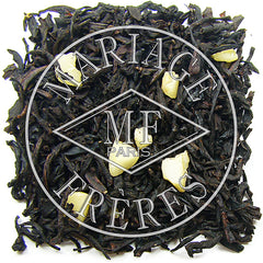 Amandier Blanc (white almond) Organic Black Tea by Mariage Frères - NEW!