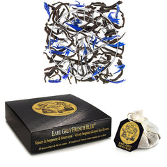 Earl Grey French Blue Organic Black Teabags by Mariage Frères