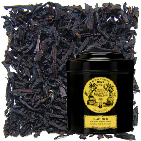 Marco Polo Tin, Organic Black Tea by Mariage Frères