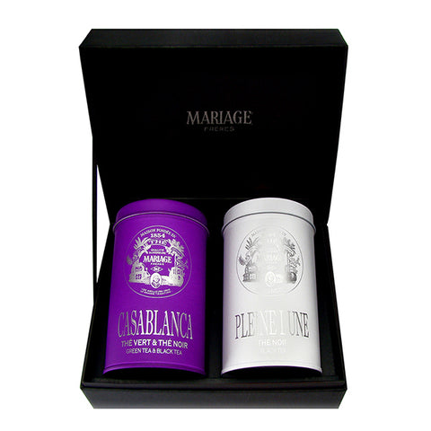 White House Organic Tea Gift Box by Mariage Frères