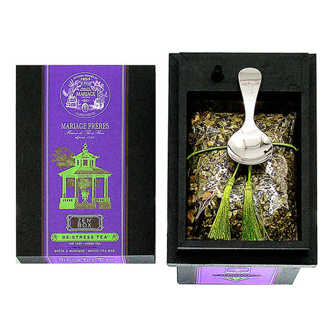 Zen Music & Organic Tea Box by Mariage Frères -New & Arriving Soon!