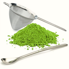 Matcha Tea Sifting Set, Spoon and Sieve