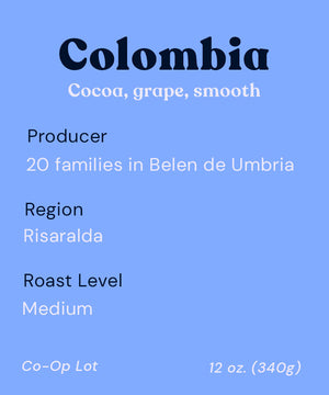 Colombia | Medium | SUSTAINABLY SOURCED
