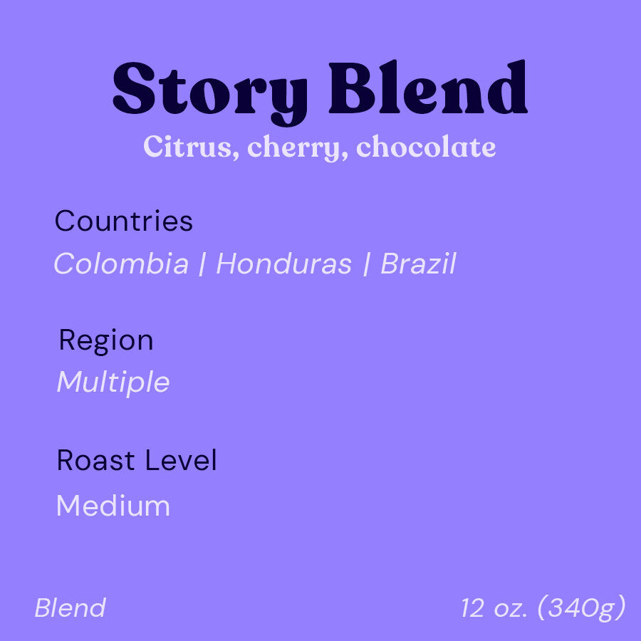 The Story Blend | Medium | SUSTAINABLY SOURCED