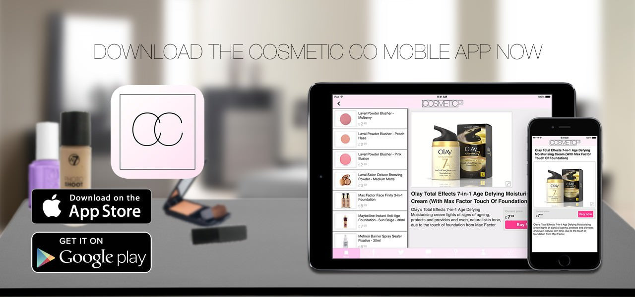 Cosmetic Co Mobile App