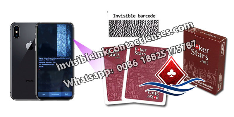 copag poker stars invisible marked cards