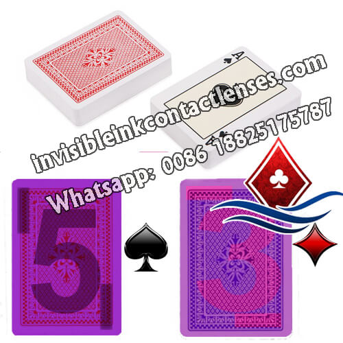ir copag 4 season  invisible marked cards