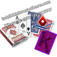 fournier prestige luminous ink marked cards