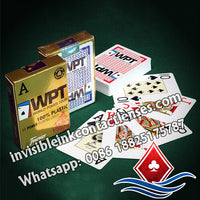 fournier wpt marked cards poker