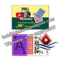 modiano ramino no.98 marked poker cards