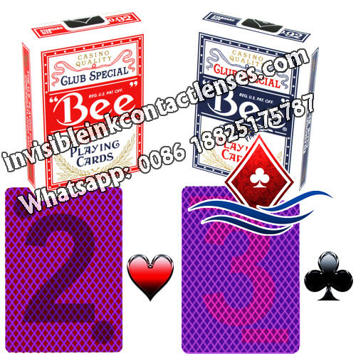 No.92 bee marked poker cards