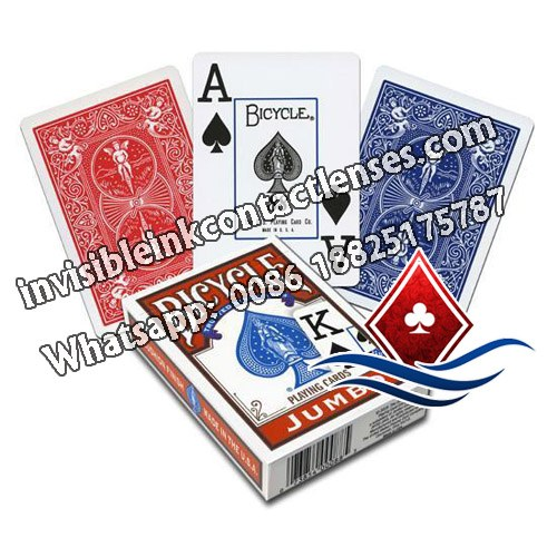 bicycle jumbo invisible marked playing cards