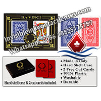 italy da vinci marked poker cards