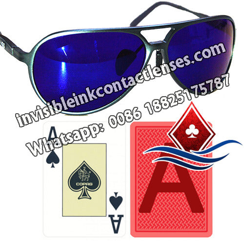 Fashion Marked Cards Glasses
