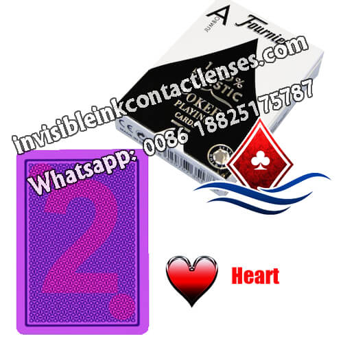 fournier 2800 ir or uv marked poker card deck