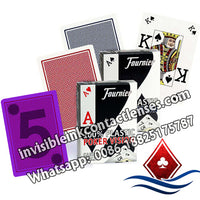 fournier poker version luminous marked cards